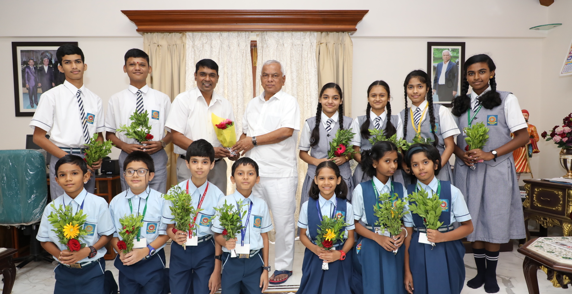 Felicitation of Scholarship Achievers